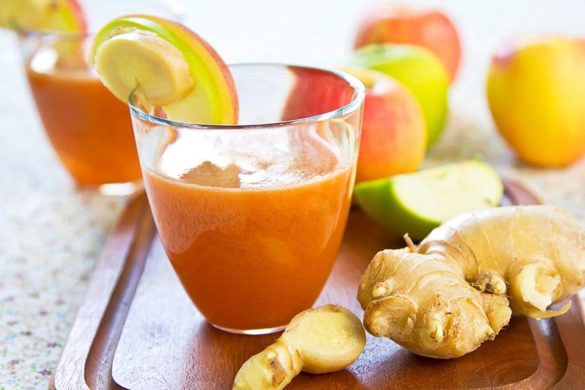 Лимон, яблоко и имбирь — вот что выведет токсины и поможет похудеть